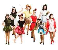 Girls WORLD BOOK DAY COSTUMES - Fancy Dress SCHOOL BOOK WEEK 2nd MARCH 2017 UK