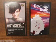 2 Figurine Esselunga Starzone Nuove ANNA TATANGELO 07 + 1 download gratuito
