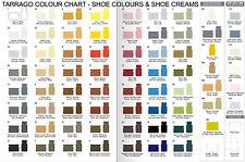 Tarrago Leather Shoe Boot Polish Cream 50 ml Jar (1.76 oz) (Colors 100 - 744)