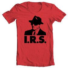 IRS records T-shirt retro alternative music R.E.M. Buzzcocks Iggy Pop cotton tee