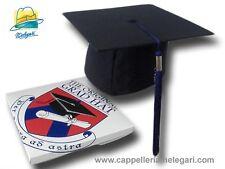 Chapeau de licence collège mortarboard The Original Grad Hat  bleu