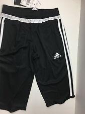 Adidas Youth Tiro 15 ClimaCool 3/4 Pants Black/White M64026