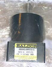 BALDOR, SERVO GEARBOX, GBSM63-MRP070-10, SLIGHTLY USED