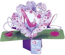Segunda naturaleza Cumpleaños Zapato y todas las ocasiones Tarjetas de Pop Up