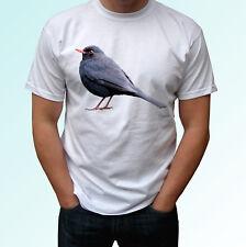 Blackbird Blanc T Shirt Animal Tee Bird TOP DESIGN-Homme Femme Enfants Bébé Tailles