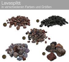 Lava Splitt rot,braun oder schwarz 17-20l Sack Aquarium Malawi Terrarium Mulch