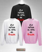 Sweat-shirt CHE FATIGUE LA VIE COMME UN ROUGE Idea Petite Amie Ami