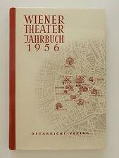 Wiener Theater Jahrbuch 1956Friedrich Langer