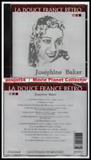 "JOSEPHINE BAKER ""La Douce France Rétro"" (CD) J'ai 2 Amours... 2002 NEUF"