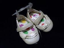 Baby Girls Fancy Soft Dress Ballet Flat Summer Shoes 1 2 3 Cream Off White NEW