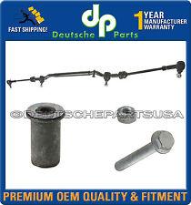 MERCEDES W202 C230 C220 C36 Center Drag Link Inner Outer Tie Rod + Idler Arm Kit