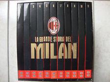 OPERA COMPLETA BOX COFANETTO 11 DVD LA GRANDE STORIA DEL MILAN AC
