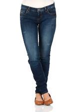 LTB Damen Jeans Clara Slim Fit - Blau - Saniel Wash