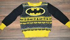 "DC Comics Batman ""Ugly Sweater"" Jumping Beans Toddler Boys Holiday Sweater"