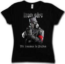 IRON SKY SOLDIER GIRLIE SHIRT - Wehrmacht Soldat Glocke UFO Haunebu Vril Girl