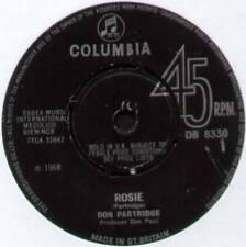"DON PARTRIDGE ~ ROSIE / GOING BACK TO LONDON ~ 1968 UK 7"" SINGLE"