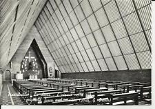 44404 piancavallo la chiesa l' interno nella sua originale linea architettonica