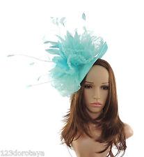 Ladies Sheer Ascot kentucky Derby Fascinator Hat Headband K1