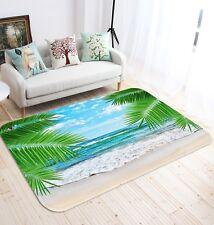 3D Coconut Beach 695 Non Slip Rug Mat Room Mat Quality Elegant Photo Carpet AU