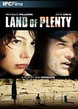 Land of Plenty (DVD, 2006, Audio English & Francais)