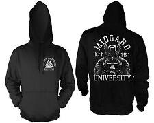 Midgard University Kapu schwarz Odin,Thor,Mjölnir,Loki,Runen,Wikinger