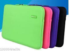 "New HQ Zipper Laptop Notebook Waterproof  Sleeve Soft Bag for MacBook 11-12"""