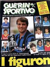Guerin Sportivo 28 1985 Sandro Mazzola storia di manager Genoa - La Sampdoria