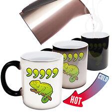 Funny Mugs Comma Chameleon Christmas Retro MAGIC NOVELTY MUG secret santa