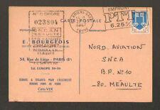 """PARIS (VIII) MATERIEL pour AERONAUTIQUE """"Ingénieur E. BOURGEOIS"""" en 1967"""