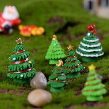 DIY Mini Christmas Tree Miniatures Fairy Decoration Home Garden Ornaments Crafts