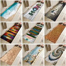 Home Carpet Hallway Doormat Bathroom Anti-Slip Carpet Absorb Water Kitchen Mat
