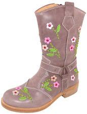 Zecchino d'Oro Cowboy Leder Stiefel 458 Kalbsleder  27, 28 Neu