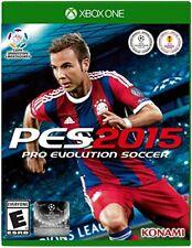 NEW Pro Evolution Soccer PES 2015 (Microsoft Xbox One, 2014)