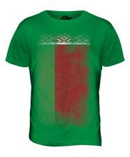 Bandera de Bielorrusia se desvaneció para hombres Camiseta Camiseta Top Camisa De Regalo De Fútbol bielorruso bielaru?