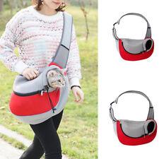 Pet Carrier Backpack Cat Dog Puppy Sling Front Carrier Mesh Travel Shoulder Bag