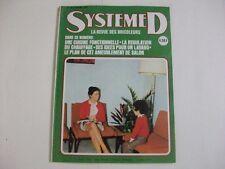 SYSTEME D N°348 JANVIER 1975 CUISINE FONCTIONNELLE REGULATION DE CHAUFFAGE