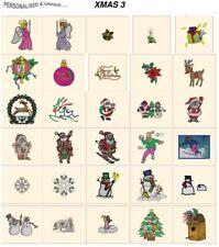 CARD machine embroidery designs jef files janome 300e ABC FONTS ALPHABET FLORAL