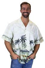 KY's Original Camisa Hawaiana Playa de Palmeras Palmbeach Verde