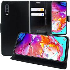 "Etui Coque Housse Portefeuille Rabat Cuir PU Samsung Galaxy A70 6.7"" SM-A705F"