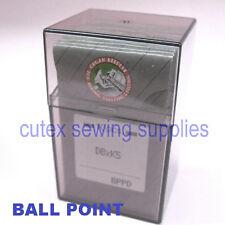 100 Titanium Ball Point Dbxk5 Db-K5 Commercial Embroidery Machine Needles