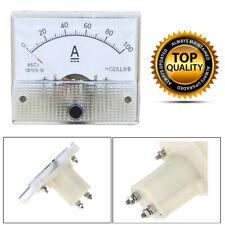 Spannungsmesstechnik 85C1 DC 0-30A Analog Panel Meter Ammeter Amperemeter IR