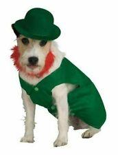 Rubie's Pet Shop Boutique Leprechaun St. Patty's Halloween Dog Costume w/Hat New