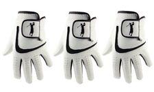 Men's Golf Gloves 100% Cabretta Leather x 3