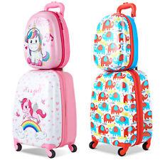 2tlg Kinderkoffer + Rucksack Kofferset Kinder Trolley Reisegepäck Kindergepäck