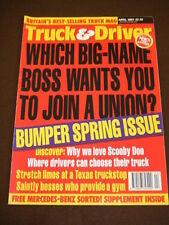 TRUCK & DRIVER - STRETCH LIMOS AT A TEXAS TRUCKSTOP - April 2001