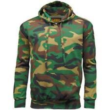 Game Camouflage Felpa con Cappuccio Woodland