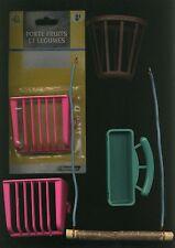 lot accessoires pour oiseaux cage - bon etat etat neuf -