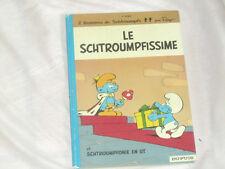 bd les SCHTROUMPFS n°2 : Le Schtroumpfissime - dos rond réédition / Peyo