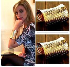 Moda Pulsera Brazalete de color oro joyas
