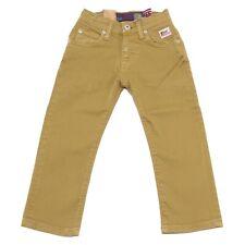 1437W jeans bimbo ROY ROGER'S mustard denim pant trouser kid boy